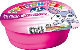 Milko Tvaroháček malinový