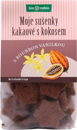Bionebio BIO Moje sušenky kakaové s kokosem