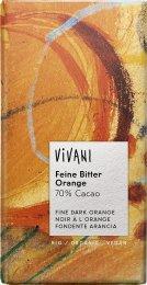VIVANI BIO Hořká čokoláda pomerančová 70%