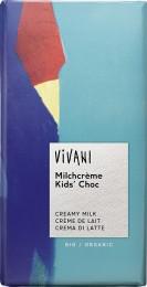 VIVANI KIDS čokoláda mléčná s náplní BIO