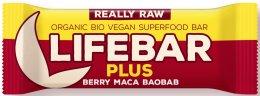 Lifefood Lifebar Plus třešňová s macou a baobabem BIO