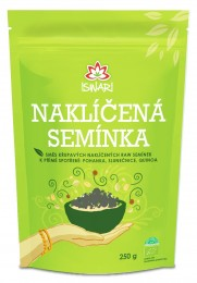 Iswari Směs naklíčených semínek pohanka - slunečnice - quinoa BIO