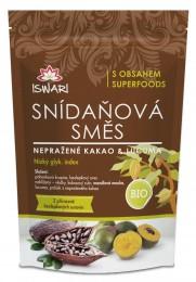 Iswari Snídaňová směs nepražené kakao & lucuma BIO