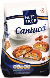 Nutrifree Cantucci, Mandlové sušenky