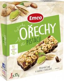 Emco Tyčinky ořechy a pistácie