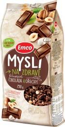 Emco Mysli na Zdraví Čokoláda a ořechy křupavé mysli