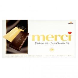Merci tabulková čokoláda extra hořká 72%