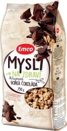 Emco Mysli na Zdraví Křupavé Hořká čokoláda