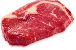 Hovězí vysoký roštěnec-vyzrálé steakové maso