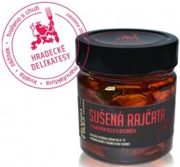 Hradecké delikatesy Sušená rajčata v olivovém oleji a bylinkách