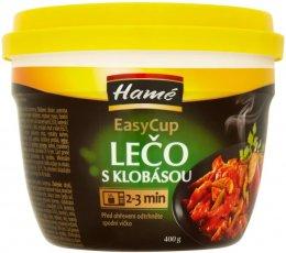 Hamé Lečo s klobásou sterilované hotové jídlo EasyCup