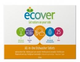 Ecover All in One tablety do myčky 25ks