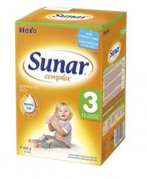 Sunar Complex 3 kojenecká výživa mléčná