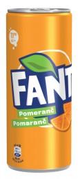 Fanta Pomeranč plech