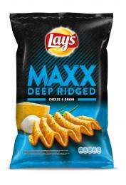 Lay's Chipsy Max s příchutí cibule a sýra