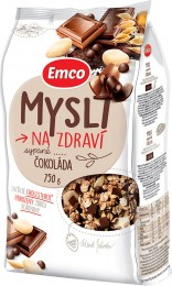 Emco Mysli na Zdraví Sypaná mysli s čokoládou