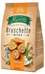 Maretti Bruschetty s příchutí čtyř sýrů