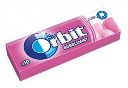 Wrigley's Orbit Bubblemint žvýkačka bez cukru 10 dražé