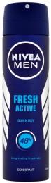 Nivea For Men Fresh active deodorant sprej