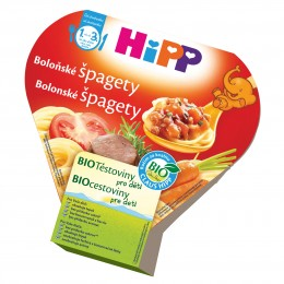 HiPP Bio Boloňské špagety příkrm pro děti