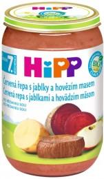 HiPP Bio Červená řepa s jablky a hovězím masem