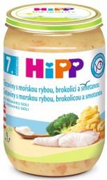 HiPP Tagliatelle s mořskou rybou, brokolicí a smetanou