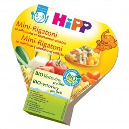 HiPP Bio mini-rigatoni se zeleninou ve smetanové omáčce příkrm pro děti