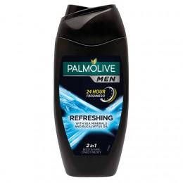 Palmolive Men Refreshing tělový šampon 2v1 s mořskými minerály a eukalyptovým olejem