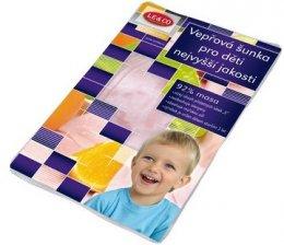 LE&CO Vepřová šunka pro děti nejvyšší jakosti