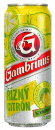 Gambrinus Řízný citron plech