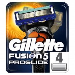 Gillette Fusion5 ProGlide Holicí Hlavice Pro Muže 4Ks