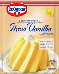 Dr.Oetker Premium puding Pravá vanilka smetanová