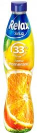 Relax ovocný sirup 33% pomeranč jablko