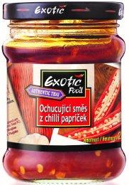 Exotic Food Tandoori Sambal Oelek ochucující směs z chilli papriček