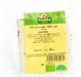 Farma Pěnčín BIO kozí sýr s pažitkou