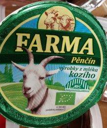 Farma Pěnčín BIO kozí tvarohová pomazánka s pažitkou
