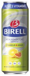 Birell Pomelo a Grep plech