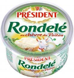 Président Rondelé s kozím sýrem