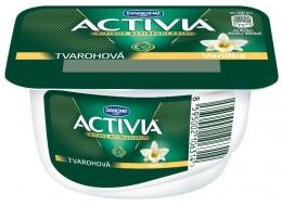 Danone Activia tvarohová vanilka