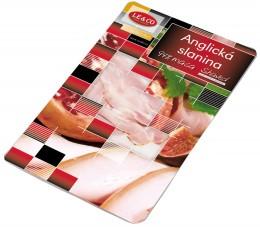 LE&CO Anglická slanina plátky shaved