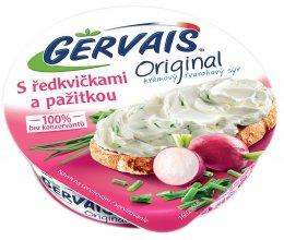 Gervais Original krémový tvarohový sýr s ředkvičkami a pažitkou