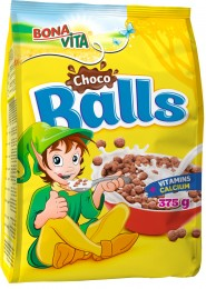 Bonavita Choco balls cereální kuličky s kakaem