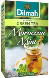 Dilmah Čaj zelený Marocká máta 20 sáčků