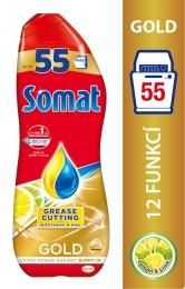 Somat Odmašťovací Gold Gel do myčky Lemon (55 mytí)