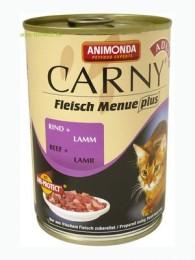Animonda Carny Adult hovězí a jehně konzerva pro kočky