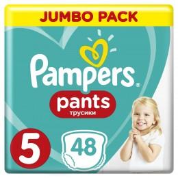 Pampers Pants plenkové kalhotky (velikost 5) 48 ks
