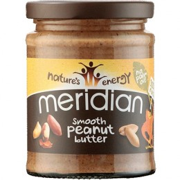 Meridian foods Arašídový krém Smooth