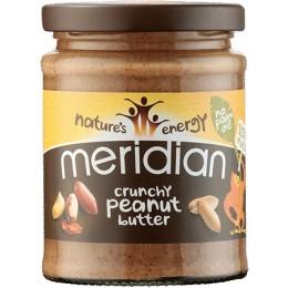 Meridian foods Arašídový krém Crunchy