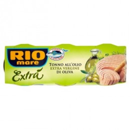 Rio Mare Tuňák extra virgin 3x80g,