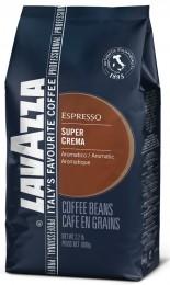 Lavazza Super Crema, zrnková káva 1kg